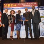 USVI EDA Accepting Award