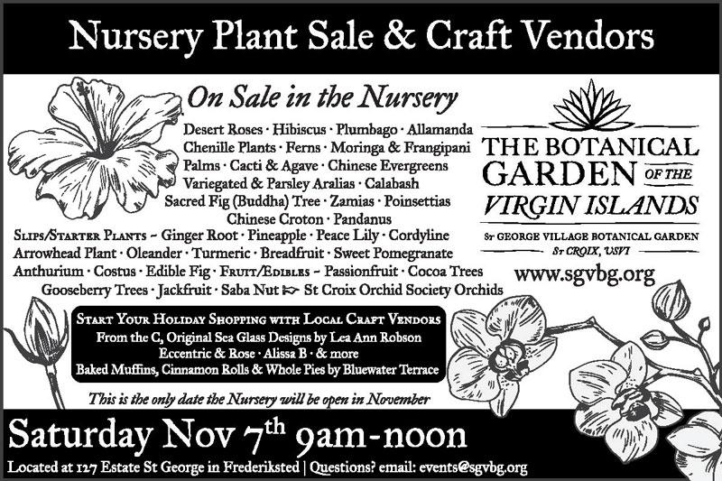 SGVBG Nursery and Craft Sale Nov 7