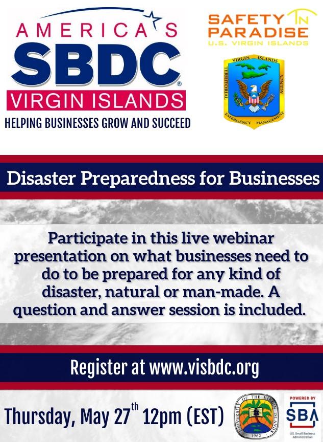 Disaster Preparadness for Businesses 5.27