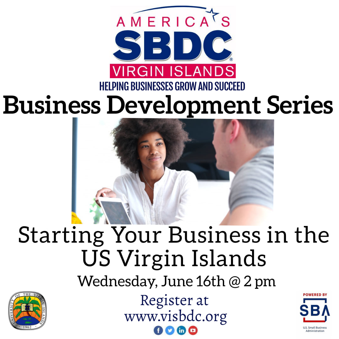 vi sbdc starting your business in the us virgin islands